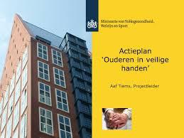 Actieplan Ouderen in veilige handen (voorblad)