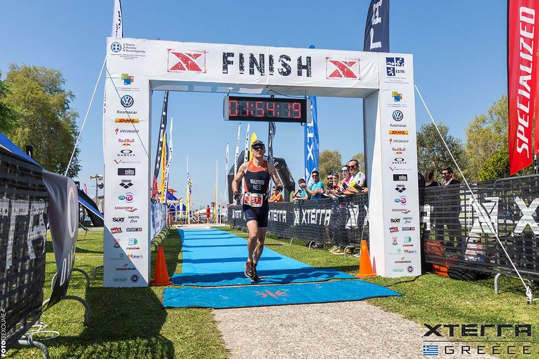 Xterra Greece - finishfoto Mark